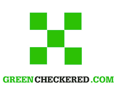 The greencheckered.com domain name is for sale.